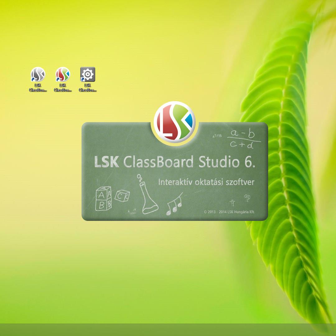 LSK ClassBoard Studio oktatói szoftver
